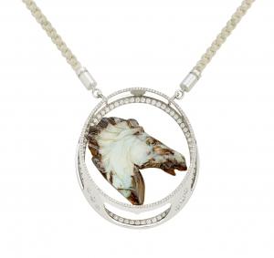 Jaime-Moreno-Art-in-Fine-Jewelry-Bucephalus-Pendant-C117-B