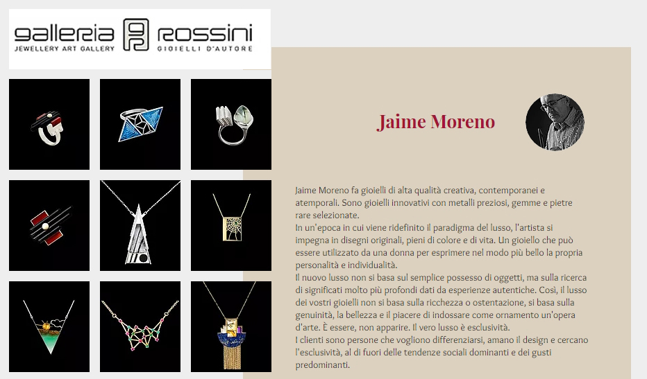 Jaime-Moreno-Art-in-Fine-Jewelry-Galleria-Rossini-Italy-Milano