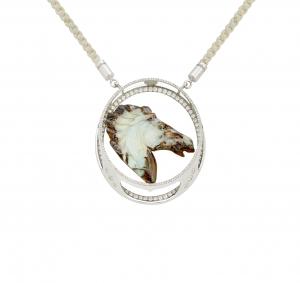 Jaime Moreno Unique Pieces of Art in Fine Jewelry Bucephalus Pendant C117 B 1