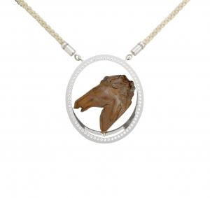 Jaime Moreno Unique Pieces of Art in Fine Jewelry Bucephalus Pendant C117 B 2