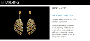 Jaime Moreno Unique Pieces of Art in Jewelry - Farlang