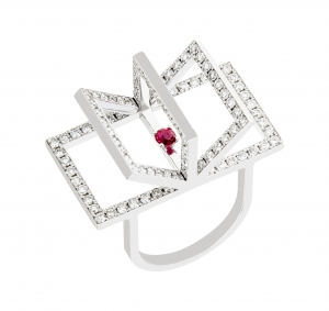 Jaime Moreno Unique Pieces of Art in Fine Jewelry Book Passion Rings A39B