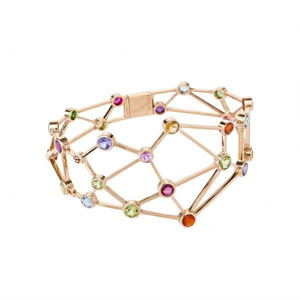 Jaime Moreno Unique Pieces of Art in Fine Jewelry Constellation Bracelet PU6 B