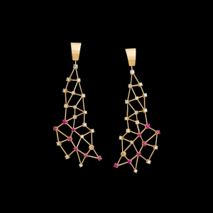 Jaime Moreno Unique Pieces of Art in Fine Jewelry Constellation Earrings P19 N