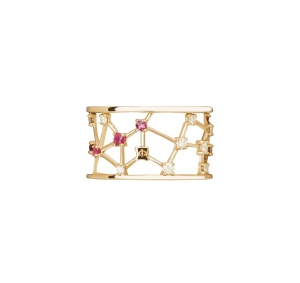 Jaime Moreno Unique Pieces of Art in Fine Jewelry Constellation Ring A31 B