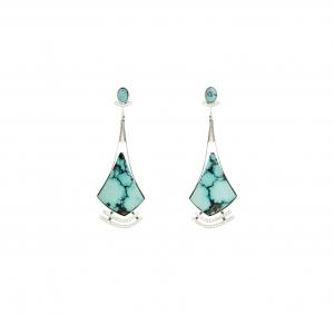 Jaime Moreno Unique Pieces of Art in Fine Jewelry Saeta Earrings P22 B