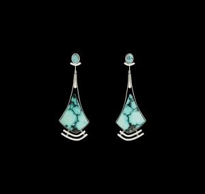 Jaime Moreno Unique Pieces of Art in Fine Jewelry Saeta Earrings P22 N
