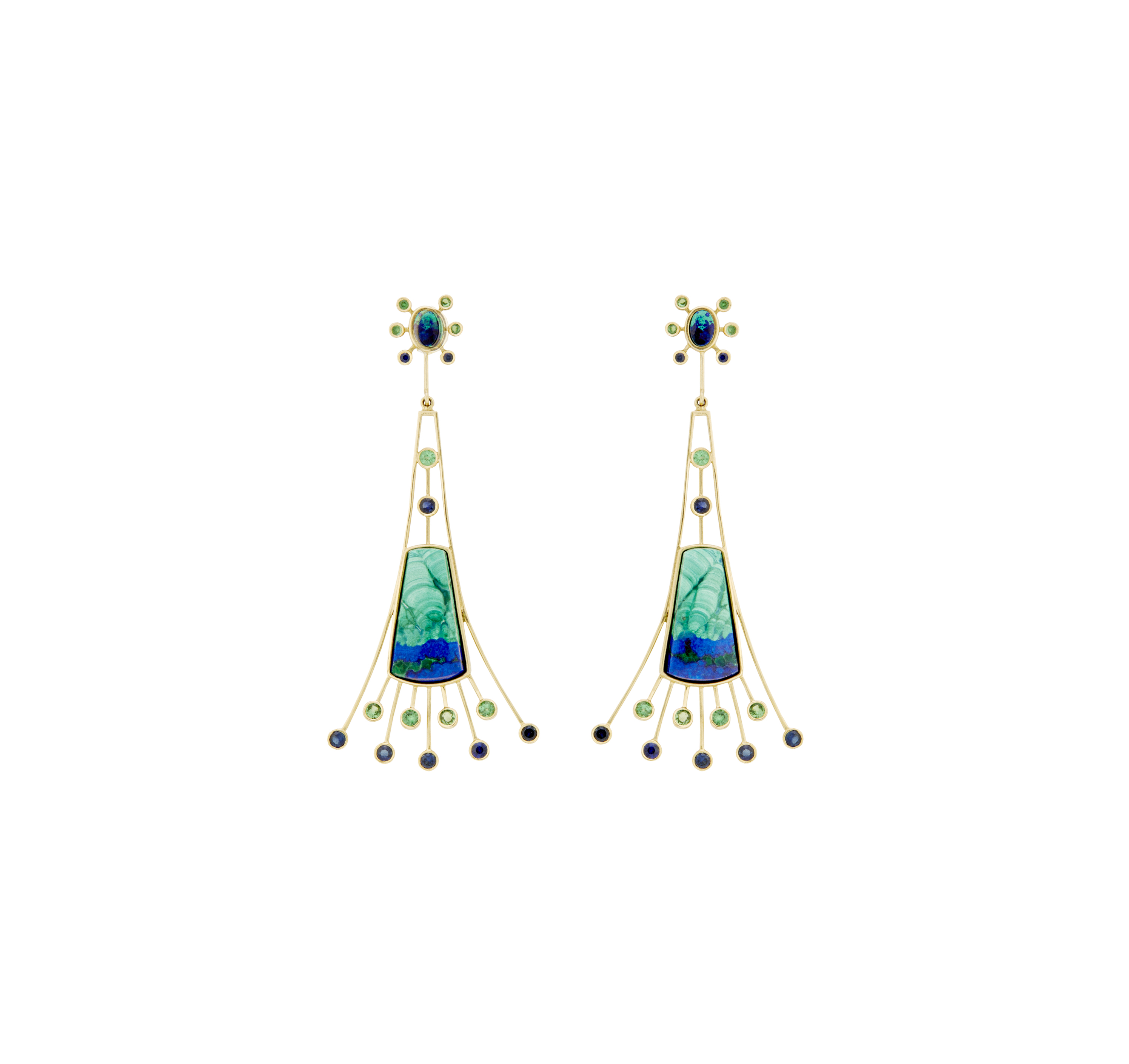 deco isabel art drop i earrings tradesy chloe