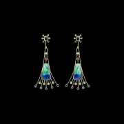 Jaime Moreno Unique Pieces of Art in Fine Jewelry Seville Earrings P23 N