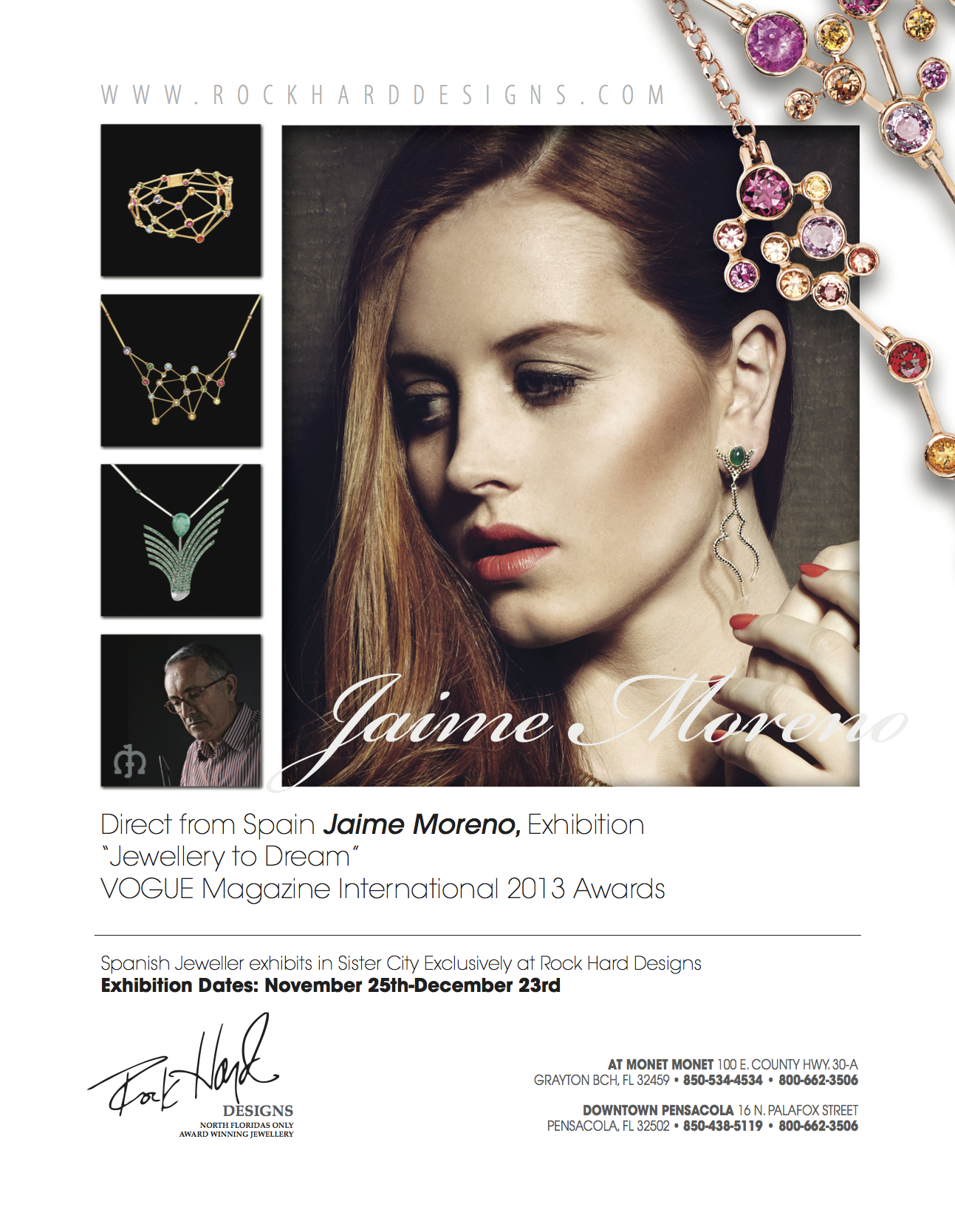 Press Jaime Moreno Art in Fine Jewelry Spanish Luxury Fine Jewelry