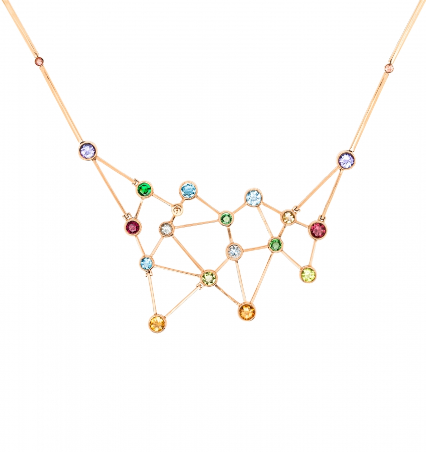 diamond ursa and constellation logan major hollowell gold jewelry products necklace