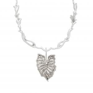 Jaime Moreno Unique Pieces of Art in Fine Jewelry Colocasia GL Necklace C98 B