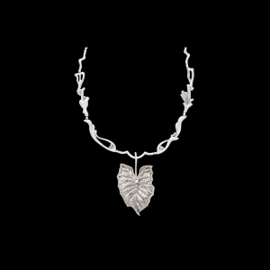 Jaime Moreno Unique Pieces of Art in Fine Jewelry Colocasia GL Necklace C98 N