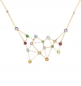 Jaime Moreno Unique Pieces of Art in Fine Jewelry Constellation Necklace C90 B