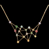 Jaime Moreno Unique Pieces of Art in Fine Jewelry Constellation Necklace C90 N