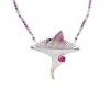 Jaime Moreno Unique Pieces of Art in Fine Jewelry Spring Necklace C119 B