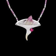 Jaime Moreno Unique Pieces of Art in Fine Jewelry Spring Necklace C119 N