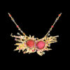 Jaime Moreno Unique Pieces of Art in Fine Jewelry Stars Collision Necklace C100 N