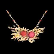 Jaime Moreno Unique Pieces of Art in Fine Jewelry Stars Collision Necklace C100 N