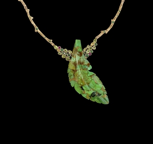 Jaime-Moreno-Art-in-Fine-Jewelry-Fuits-of-the-forrest-Necklace-C122-N
