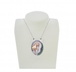 Jaime-Moreno-Art-in-Fine-Jewelry-Spanish-Luxury-Pendant-Pegaso-Los-Arcos-Pure-Spanish-Breed-Horse-Peto