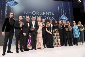 Jaime Moreno - Postpalast Münich - Inhorgenta Award 2018 - Best piece of the year - Award Ceremony