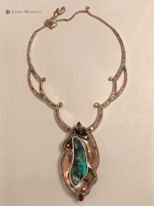 Jaime Moreno - Tornasol Necklace - Best Piece of Jewelry