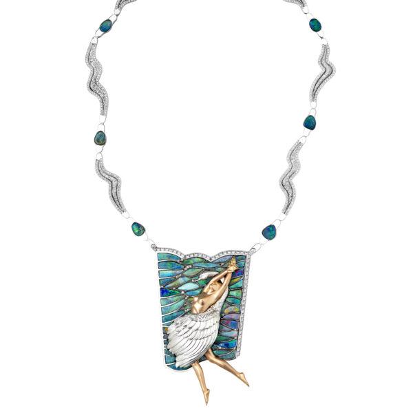 Jaime-Moreno-Art-in-Fine-Jewelry-Swan-Lake-Necklace-B