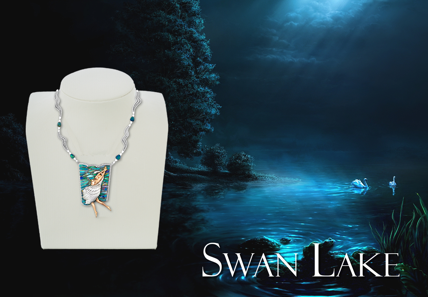 Jaime-Moreno-Art-in-Fine-Jewelry-Swan-Lake
