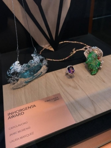 Jaime Moreno - Art in Fine Jewelry - Four Seasons Necklace - Inhorgenta Award 2019 - Public Choice Award Finalist Gala