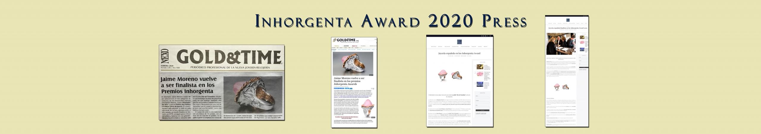 2020 Press Jaime Moreno - Best Spanish Fine Jewelry Designer