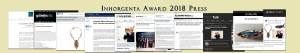 Inhorgenta Award 2018 Press Jaime Moreno - Best Spanish Fine Jewelry Designer