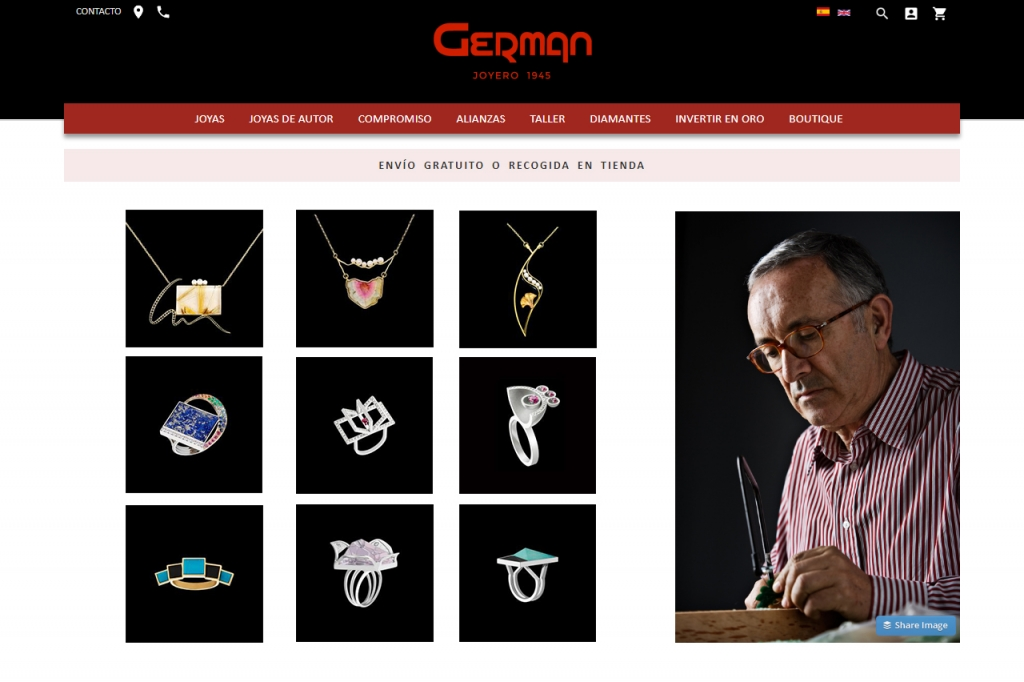 Jaime Moreno - Buy Online - German Joyero